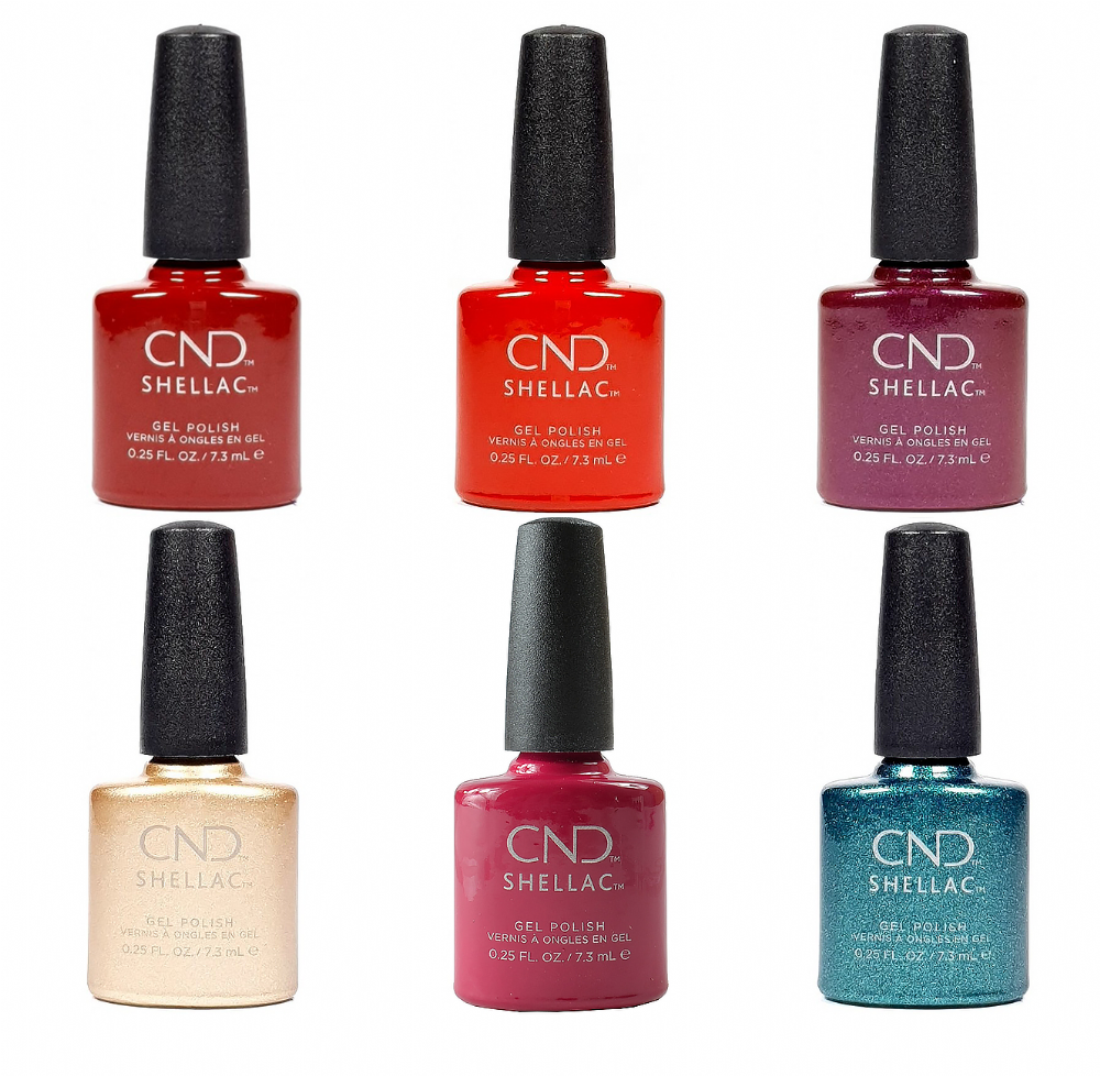 CND Shellac Cocktail Couture Holiday 2020 Collection 6 x 7.3ml